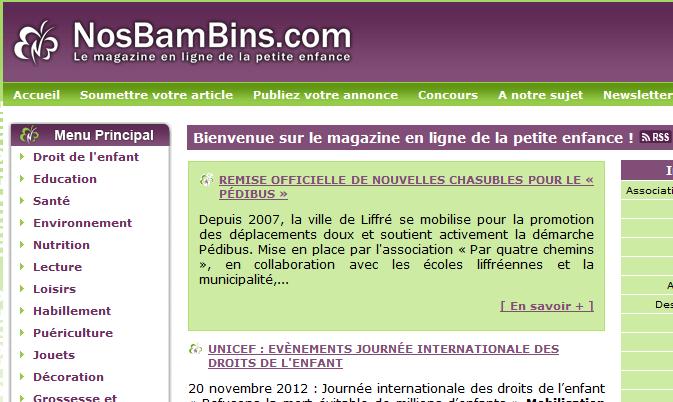 """Remise officielle de nouvelles chasubles pour le """"Pédibus"""""""
